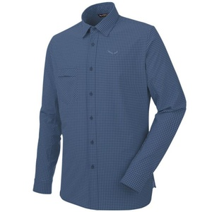 Košeľa Salewa FANES Puez MINI CHECK DRY M L/S SHIRT 26330-8746, Salewa