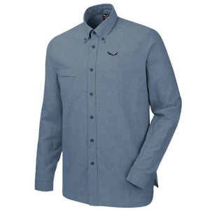 Košeľa Salewa FANES LINEN 2 CO M L/S SHIRT 26365-8675, Salewa
