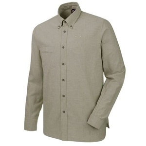 Košeľa Salewa FANES LINEN 2 CO M L/S SHIRT 26365-5759, Salewa