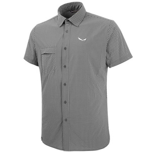 Košeľa Salewa FANES Puez MINI CHECK DRY M S/S SHIRT 26587-0921, Salewa