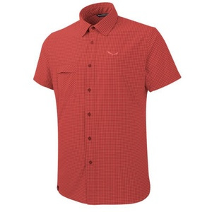 Košeľa Salewa FANES Puez MINI CHECK DRY M S/S SHIRT 26587-1644, Salewa