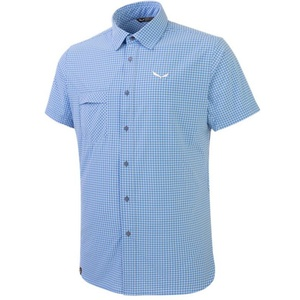 Košeľa Salewa FANES Puez MINI CHECK DRY M S/S SHIRT 26587-3438, Salewa