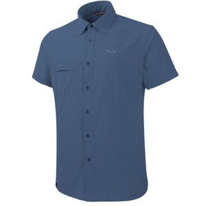Košeľa Salewa FANES Puez MINI CHECK DRY M S/S SHIRT 26587-8746, Salewa
