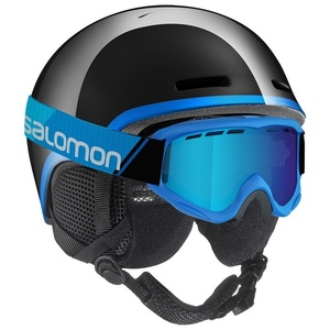 Lyžiarska helma Salomon GROM Black 391618, Salomon