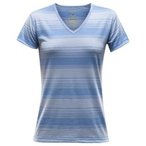 Tričko Devold Breeze Woman T-shirt V-neck 180-218 519, Devold