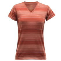 Tričko Devold Breeze Woman T-shirt V-neck 180-218 523, Devold