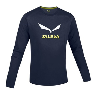 Tričko Salewa SOLIDLOGO CO M L/S TEE 25279-3991