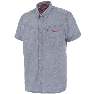 Košeľa Salewa FANES LINEN CO M S/S SHIRT 25734-8670, Salewa