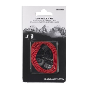 Šnúrky Salomon Quicklace KIT Red 326674