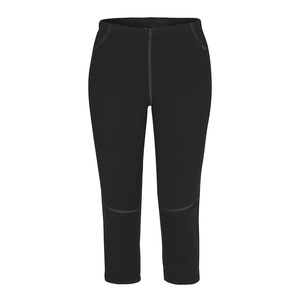 3/4 Spodky Zajo Artica Boot Cut Lady Pants black, Zajo