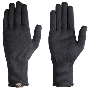 Rukavice Lowe Alpine Stretch Knit Glove čierne, Lowe alpine