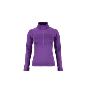 Rolák Lowe Alpine Powerstretch Zips Top Women's fialová, Lowe alpine