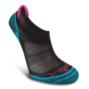Ponožky Bridgedale CoolFusion Run Na-kd Women's black/845