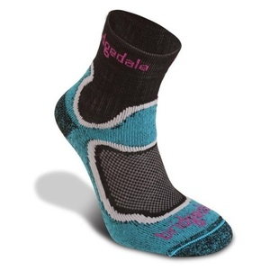 Ponožky Bridgedale CoolFusion Speed Trail Women's turquoise/413