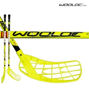Florbalová palica WOOLOC FORCE 3.2 yellow 75 ROUND NB '14, Wooloc