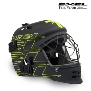 Helma EXEL G2 HELMET Junior black / yellow, Exel