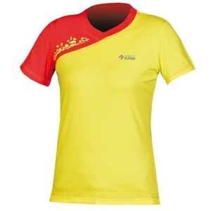 Tričko Direct Alpine Lotus Lady 1.0 yellow / red, Direct Alpine