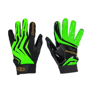 Brankárske rukavice Oxdog GATE GOALIE GLOVES green / black