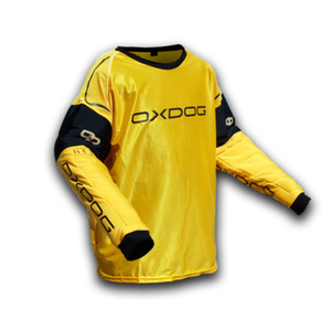 Brankársky dres Oxdog BLOCKER GOALIE SHIRT orange / black, Exel