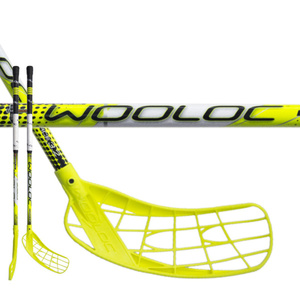Florbalová palica WOOLOC FORCE 3.2 yellow 75 ROUND NB, Wooloc