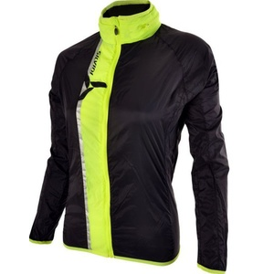 Dámska ultra light bunda Silvini GELA WJ802 black-neon, Silvini