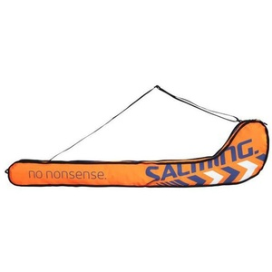 Vak Salming Tour Stickbag Senior navy blue / orange, Salming