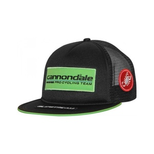 Šiltovka Cannondale Pro Cycling Team Trucker Cap Black / Green 4206034, Cannondale