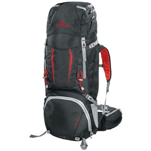 Batoh Ferrino OVERLAND 50+10 black / red 75670, Ferrino