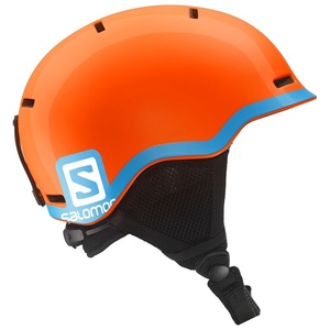 Lyžiarska helma Salomon GROM Fluo Orange / Blue 377734, Salomon
