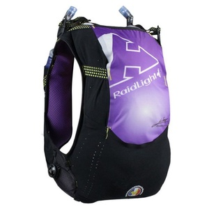 Bežecká vesta Raidlight Responsive 10L Vest Black/Purple, Raidlight
