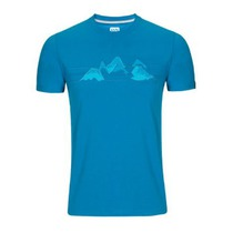 Tričko Zajo Bormio T-shirt Blue Jewel Nature, Zajo
