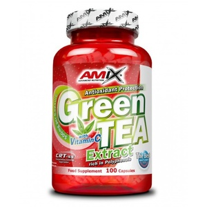 Amix Green TEA Extract with Vitamín C 100 kapsúl, Amix