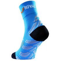 Ponožky ROYAL BAY® Neon High-Cut Blue 5099