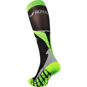 Kompresný podkolienky ROYAL BAY® Air Black / Green 9688, ROYAL BAY®