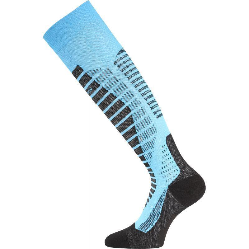 Lyžiarske ponožky Lasting WRO 509 modré M (38-41)
