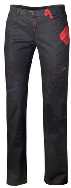 Nohavice Direct Alpine Yuka black / red